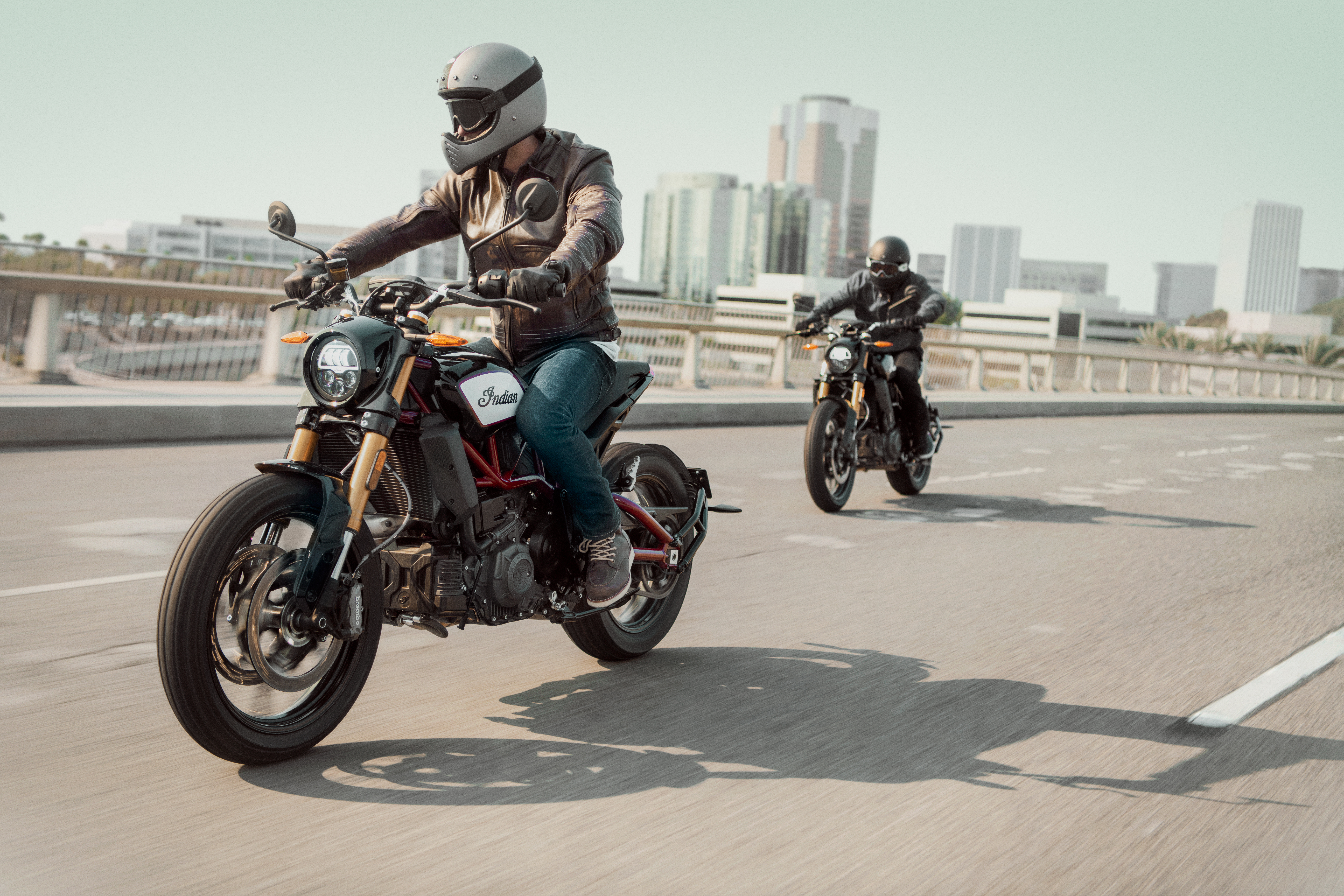 At last, Indian unveils the FTR1200 flat tracker for the