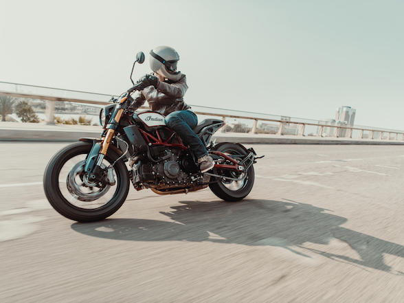 At last, Indian unveils the FTR1200 flat tracker for the street