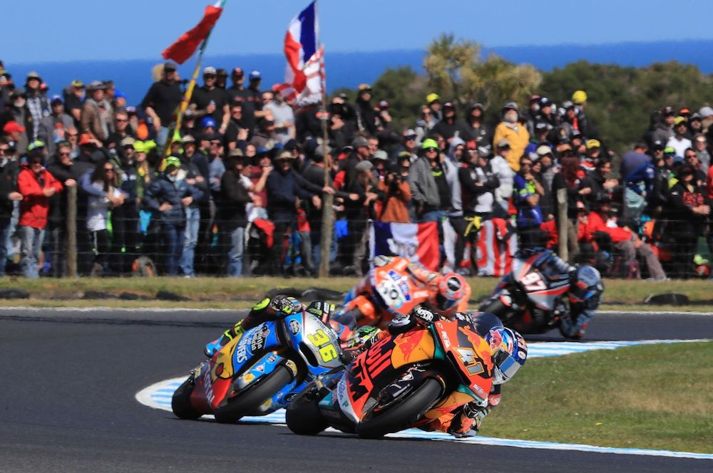 Brad Binder Australia Phillip Island Moto2 KTM Win dice