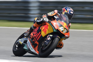 "Brad Binder on Thailand Moto2: ""I had several scares and I was able to save them"""
