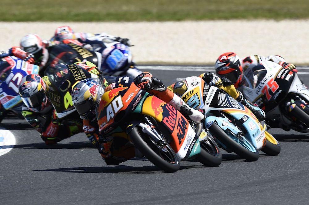 Darryn Binder Australia Phillip Island Moto3 KTM Corner