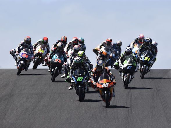 """Darryn Binder on Australian Moto3 race: """"I got forced onto the grass"""""""