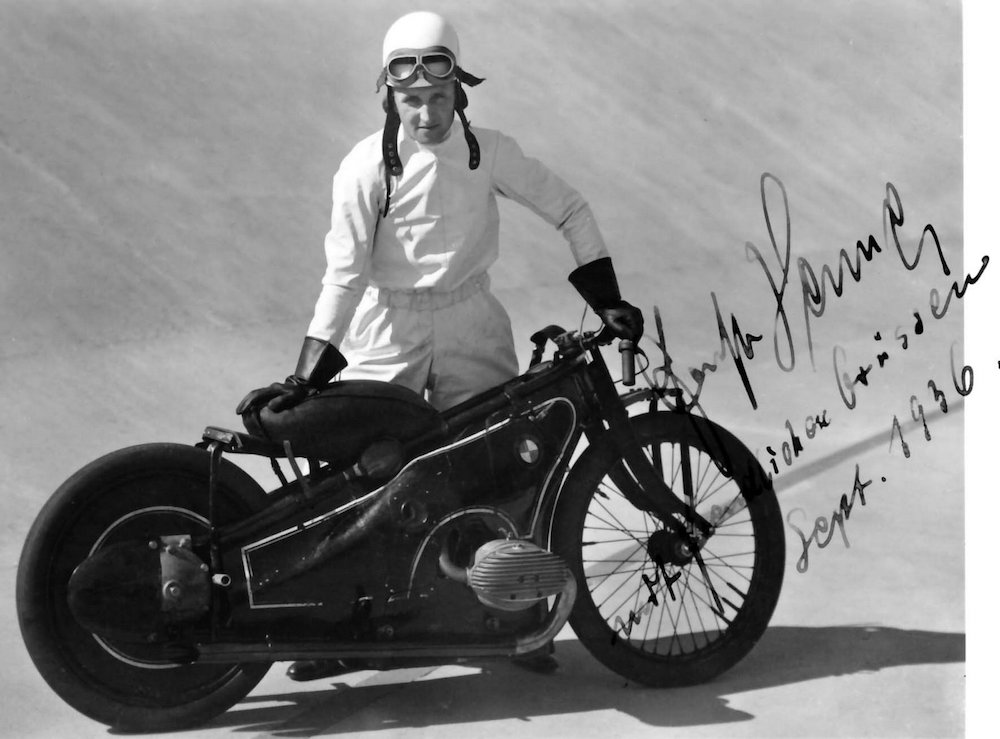 Motorcycle land speed record bmw Henne