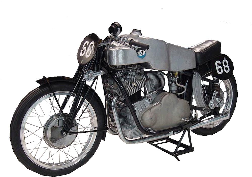 Motorcycle land speed record nsu