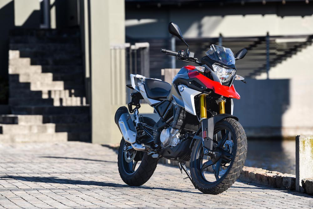 Pirelli Bike of the year 2018 finalist BMW G310 GS