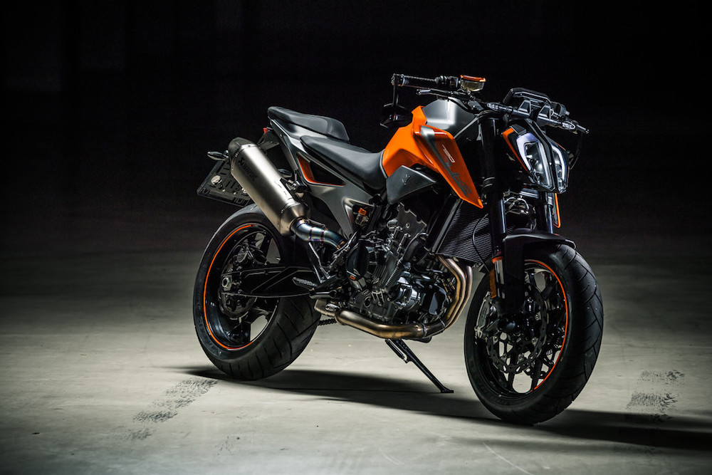Pirelli Bike of the year 2018 finalist KTM 790 DUKE MY 2018