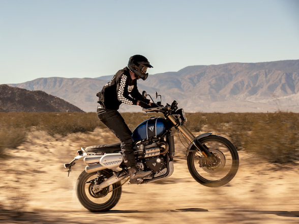 Triumph unveils new Scrambler 1200 XE: a genuine off-road adventure scrambler?