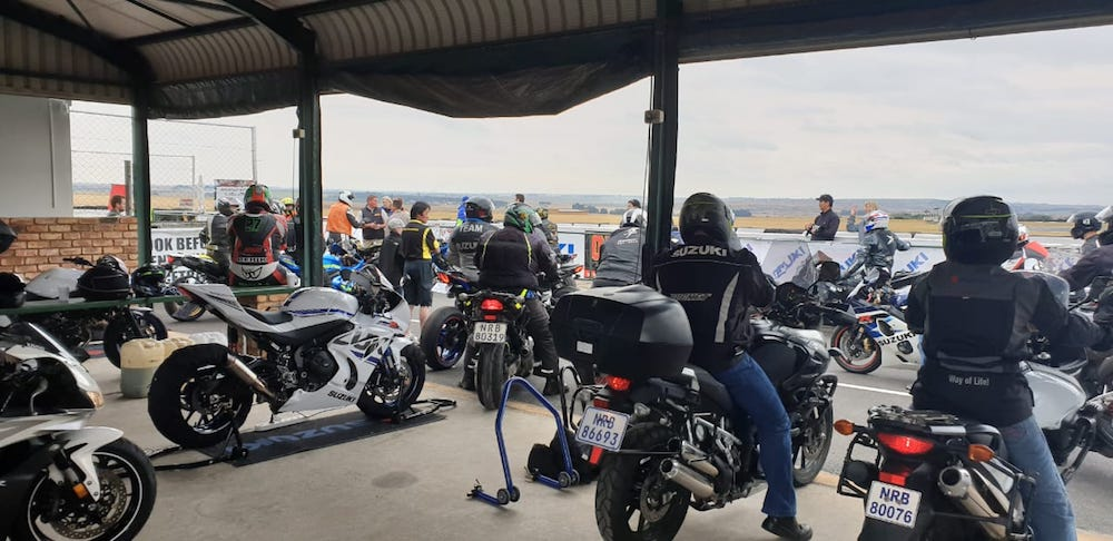Suzuki Track Day 2018 Red Star 1