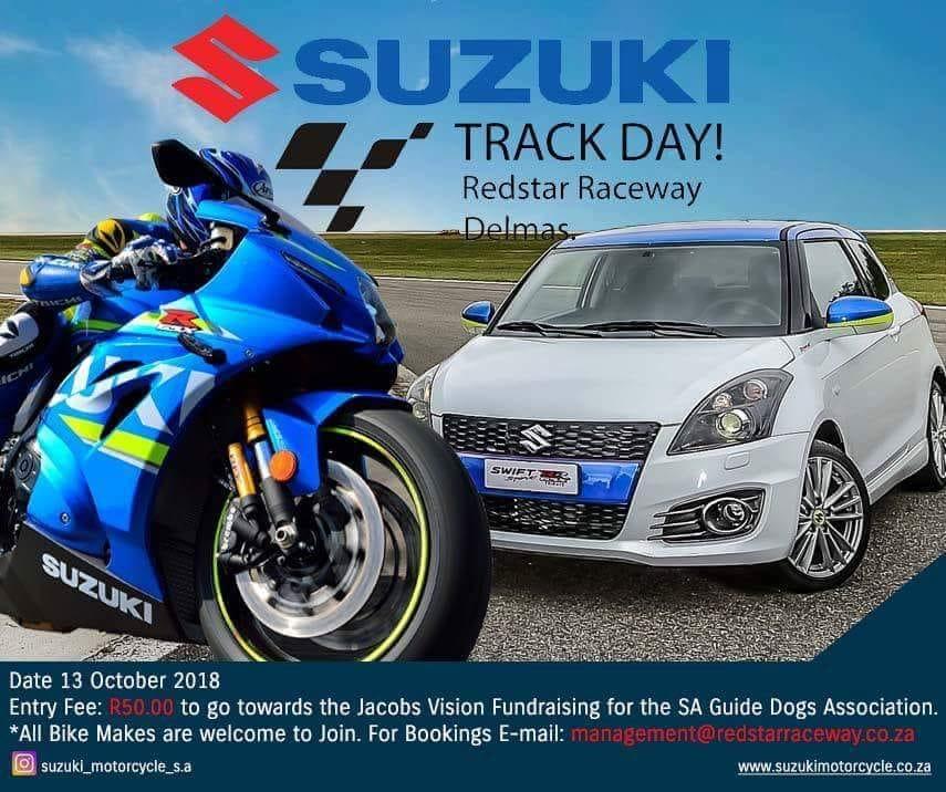 Suzuki Track Day flyer