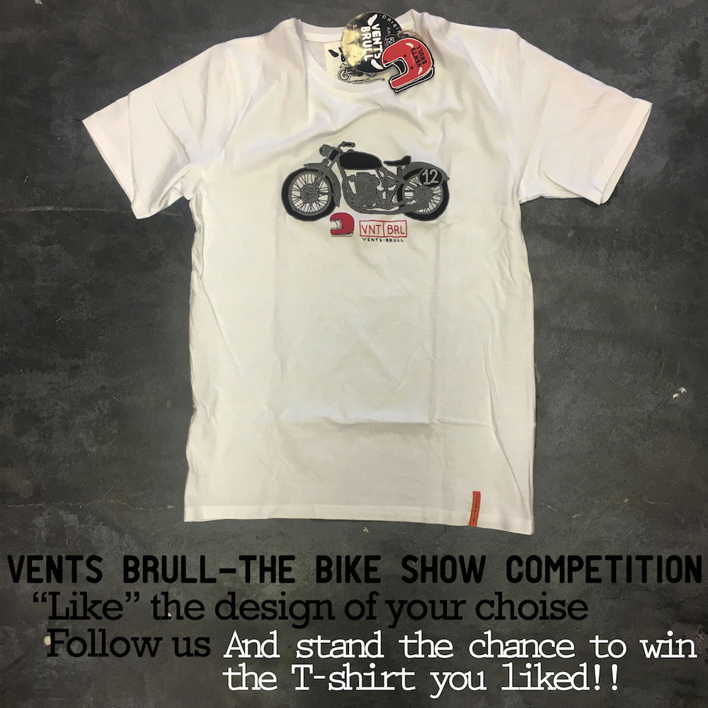 Vents Brull Competition white-bike
