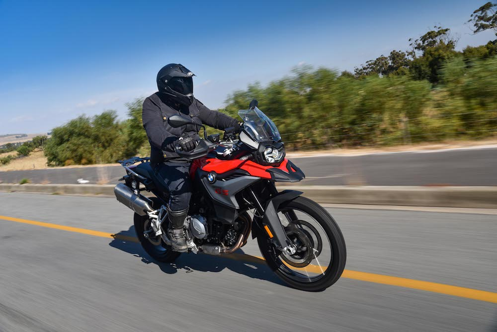 BMW F850 GS F750 GS Launch Cape Town 2_445 tracking ceuising