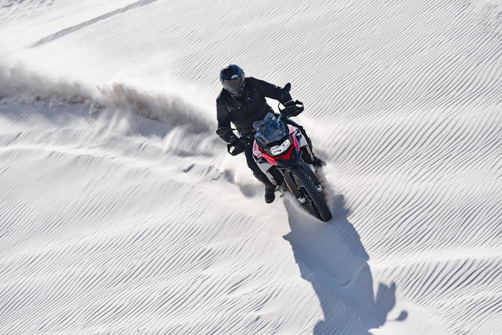 BMW F850 GS F750 GS Launch Cape Town 2_487 dunes soft sand