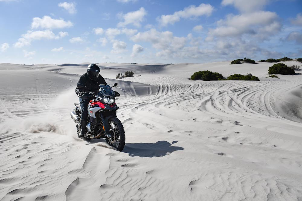 BMW F850 GS F750 GS Launch Cape Town 2_495 dunes