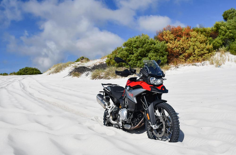 BMW F850 GS F750 GS Launch Cape Town 2_499 soft sand park