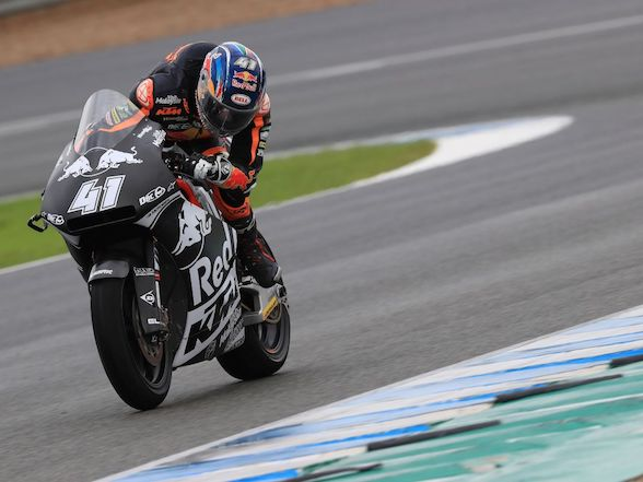 "Brad Binder completes three day test: ""There are different aspects that we have to improve"""