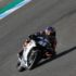 Brad Binder KTM Triumph Jerez test day one elbow Feature