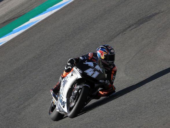 "Binder debuts Triumph Moto2 engine: ""I felt very comfortable"""
