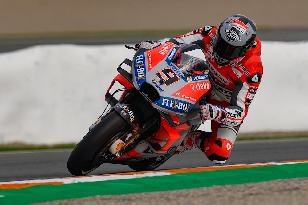 Danilo Petrucci highlights day one Valencia test 2018