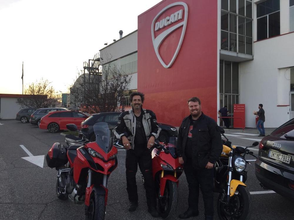 Donovan Blog Ducati Italy Milan EICMA Show