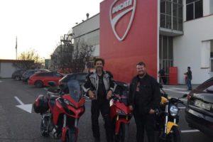 Donovan Blog: Sorry for the silence, we've been motociclisti