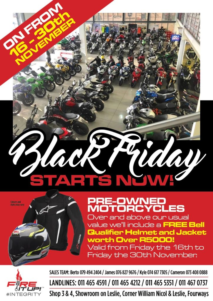 Fire it up Black-Friday-Starts-Now