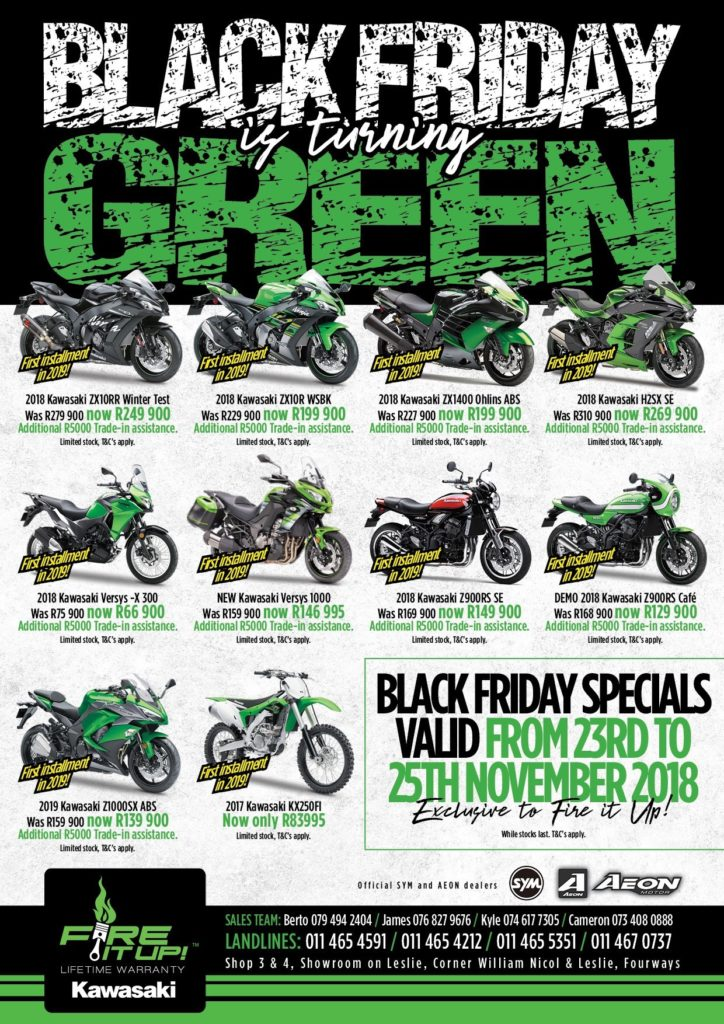 Fire it up Black-Friday-Turns-Green