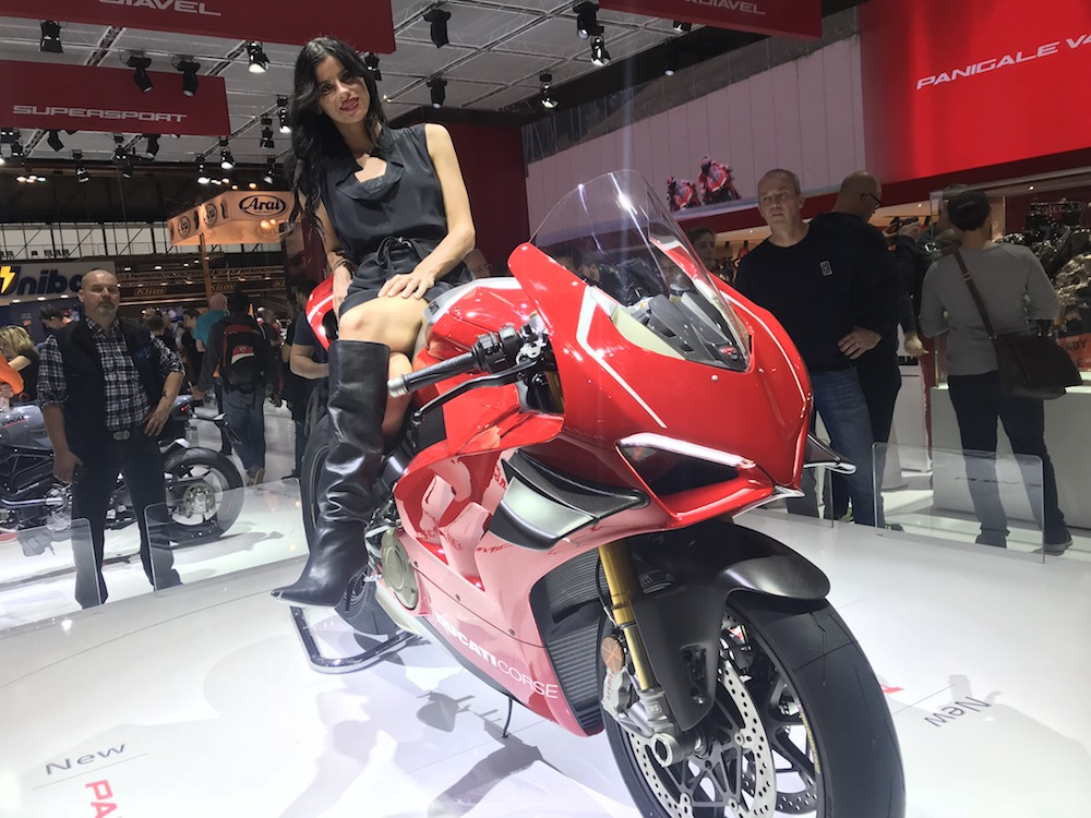 Harry Fisher Blog Ducati Panigale V4 R Milan EICMA Show