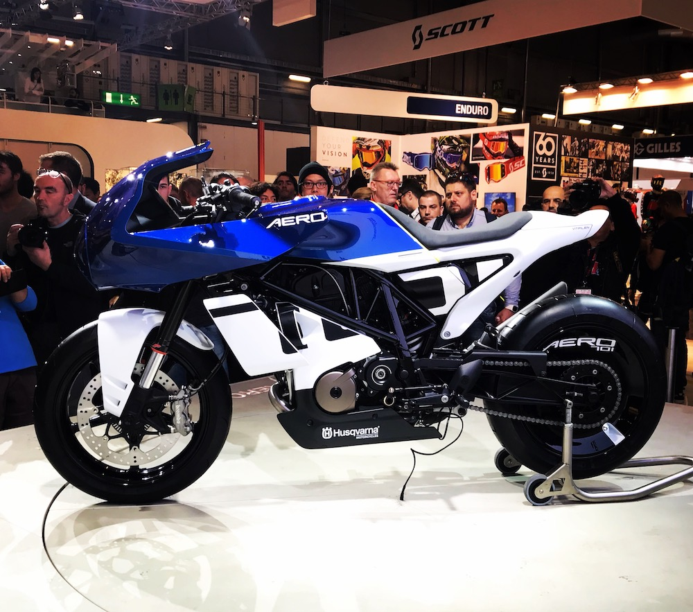 Harry Fisher Blog Husqvarna Vitpilen Aero Milan EICMA Show