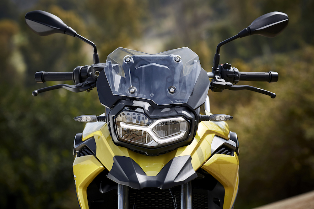 P90295854_F850 GS F750 GS Launch Cape Town headlight daylight running lights