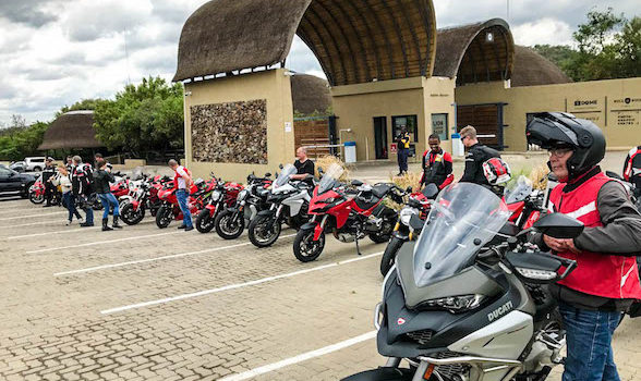 Ducati & Maserati Owners Club join for one last blast