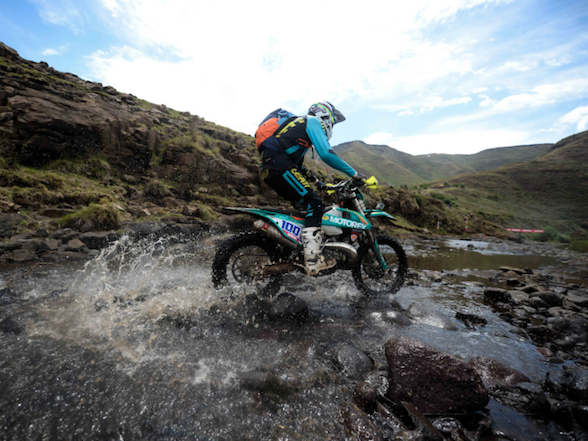 "Dakar legend conquers ""The Mother of Hard Enduros"""