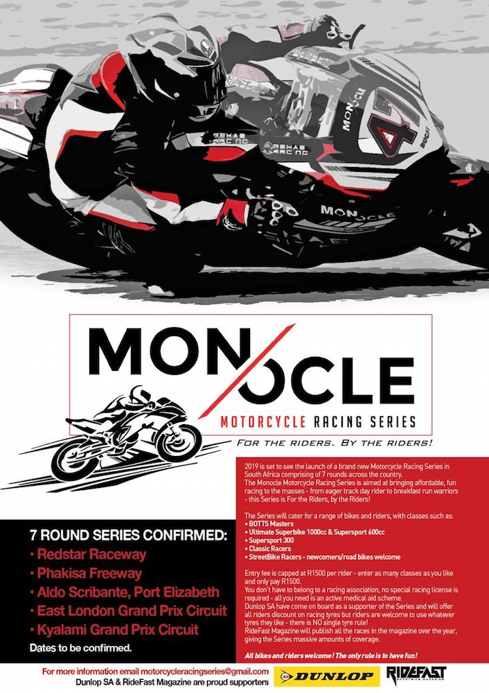 Monocle Race Series Poster