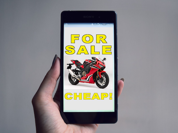 Warning: Motorcycle scam artists out in full force this holiday period