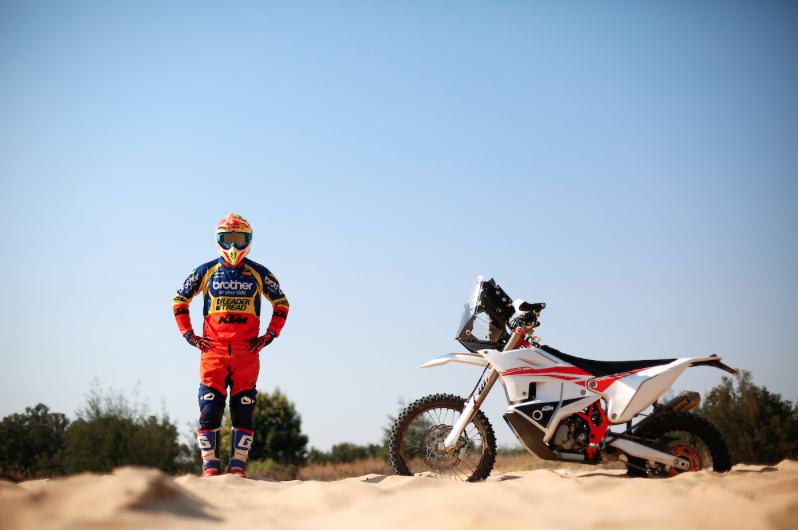 Ross Branch head to Dakar Rally stance