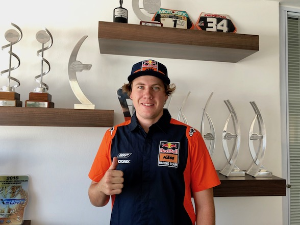 Tristan Purdon signs for KTM in 2019 national MX1 and MX2 championships
