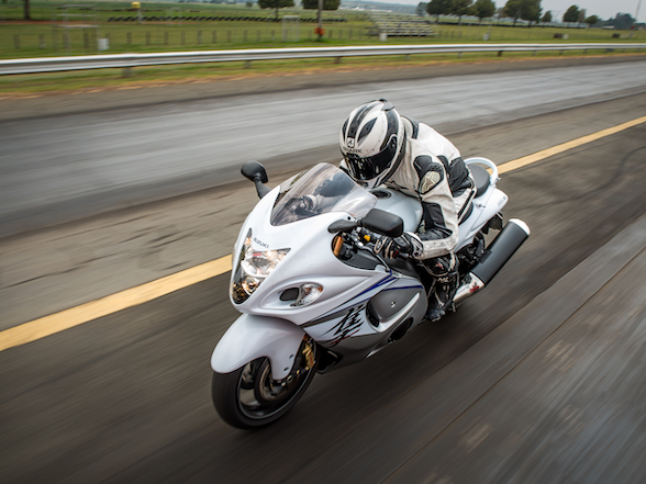 Great Bikes: Suzuki Hayabusa – 20 years, one update and still going