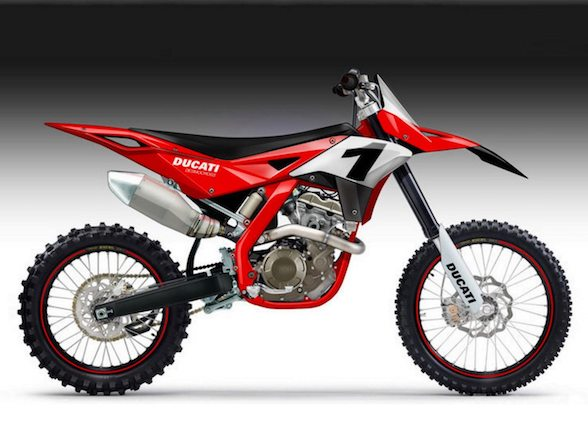 Ducati is not building a dirt bike, however….