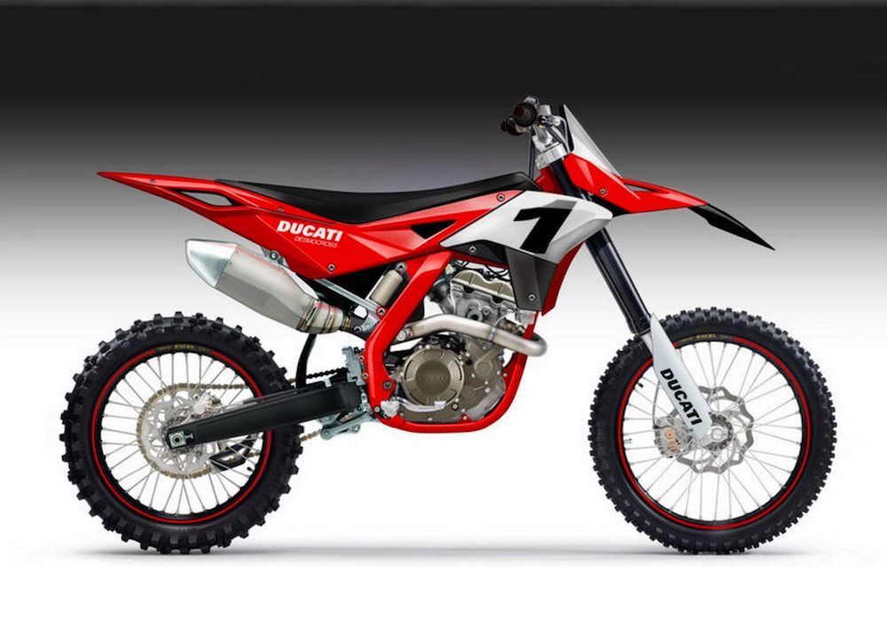 Ducati building a motocross bike MX Donovan Fourie