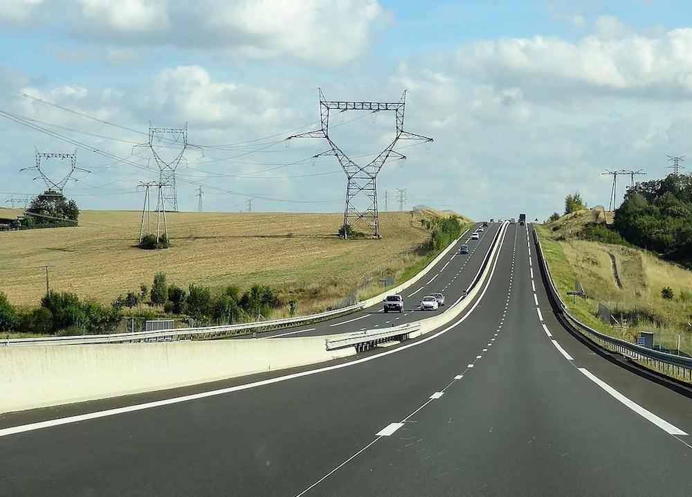 France highways so smooth