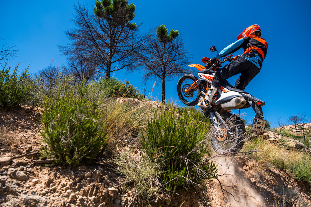 KTM buying Ducati 690 ENDURO 2019