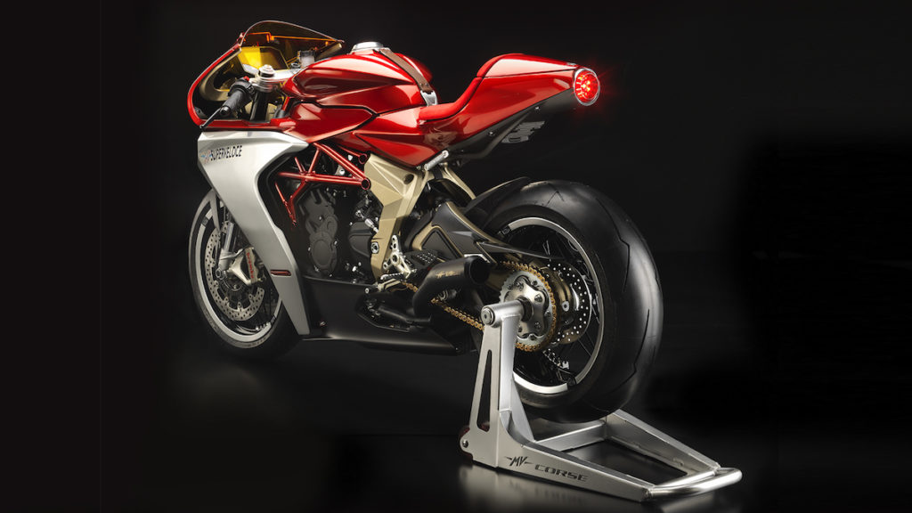 MV Agusta Superveloce Fire It Up new importer