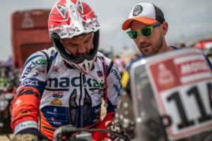 Engine penalty costs Ross Branch at Dakar 2019