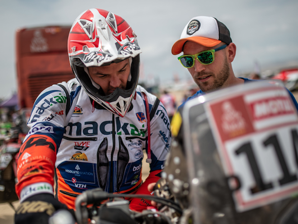 Engine penalty costs Ross Branch at Dakar 2019