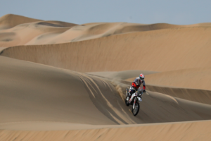 Southern Africa's Ross Branch crowned fastest Dakar Rookie