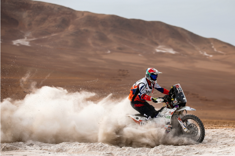 Ross Branch Fastest Dakar Rookie KTM 2019-01-18 at 13.15.26