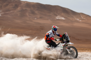 """Ross Branch Dakar rest day interview: """"I'm having the time of my life!"""""""
