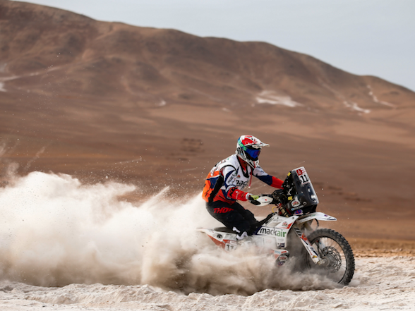"Ross Branch Dakar rest day interview: ""I'm having the time of my life!"""