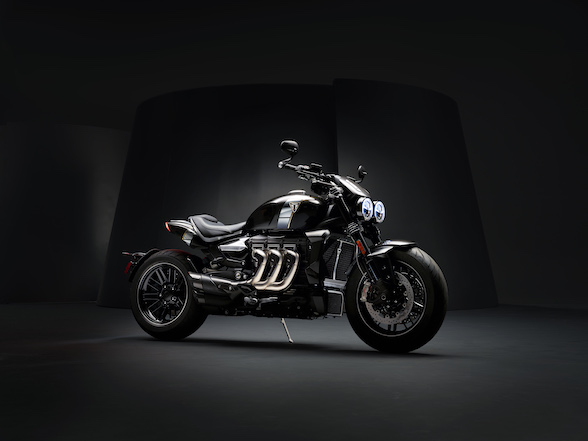Triumph surreptitiously unveils new Rocket with new Triumph Factory Customs