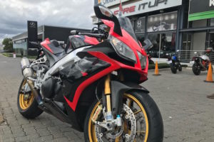 Fire It Up Friday Review: 2012 Aprilia RSV4 Factory APRC – World Superbike pace, road riding price