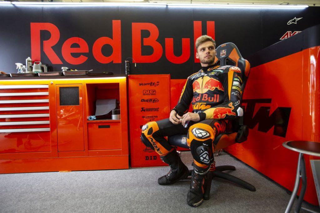 Brad Binder Jerez test 1